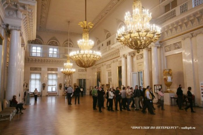 Экскурсия в Зимний дворец