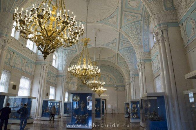 Александровский зал в Эрмитаже