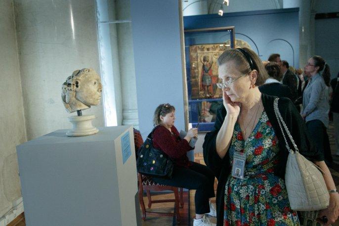 Выставка Византия сквозь